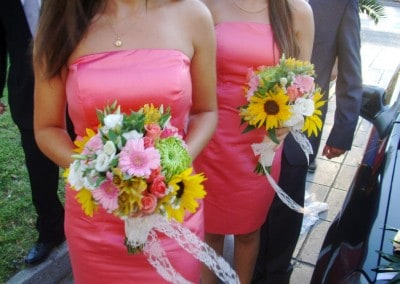 Bridesmaids bouguets