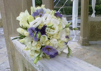 Bridal Bouquet blue