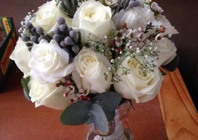 Bridal Bouquet Brunia-Waxflower