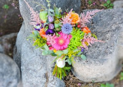 Boho-country style Bridal bouquet