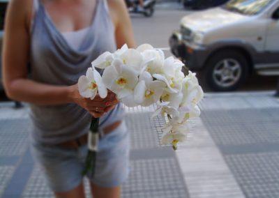 Orchds Bridal bouquet