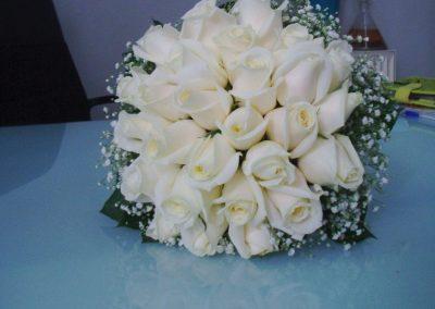 Bridal Bouquet White roses